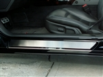 C6 Corvette Stainless Steel Doorsills Outer
