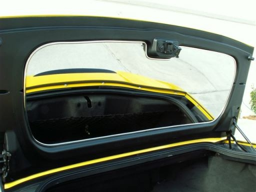 C6 Corvette Convertible Mirror