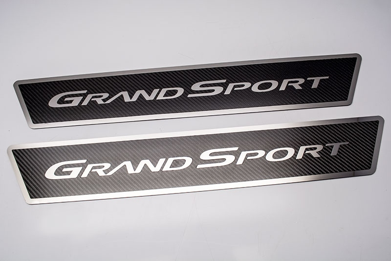 C6 Corvette Grand Sport Carbon Fiber Door Sill Plates