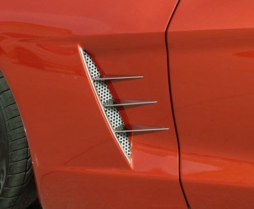 C6 Corvette Side Spears - Stainless