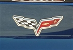 C6 Corvette Emblem Surrounds