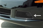 C6 Corvette Driving Light Covers - Blakk Stealth