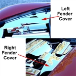 C6 Corvette Inner Fender Covers