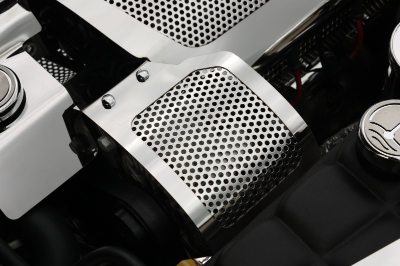 C6 Corvette Alternator Cover - Perforated
