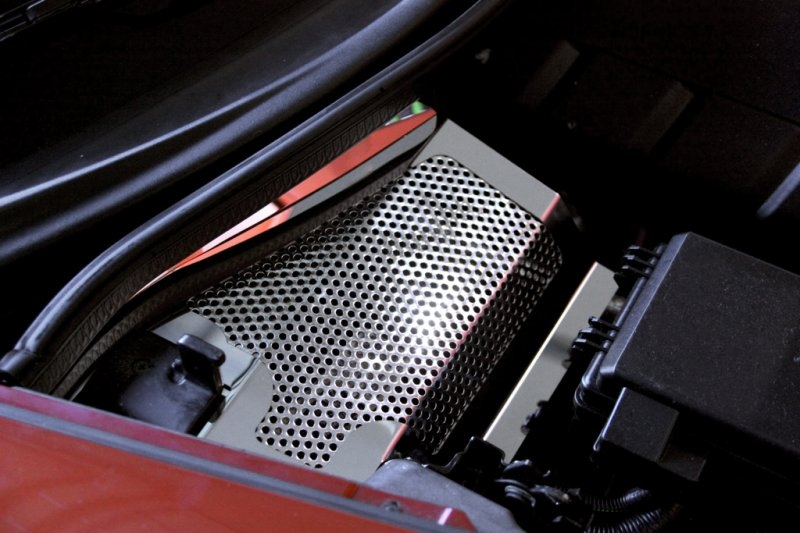 C6 Corvette Battery Cover - Perforated