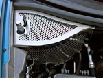 C6 Corvette Dry Sump Cover - Perforated Stainless Steel