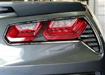 C7 Corvette Stingray Alumi-Steel Back Up Light Grilles Package - Matrix Series