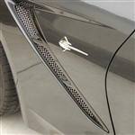 C7 Corvette Stingray Side Fender Vent Grilles / Spears