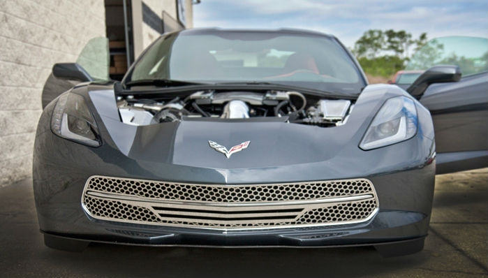 C7 Corvette Stingray Lower Front Grille - Matrix Series