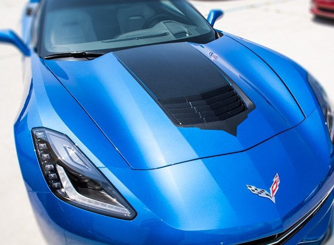 C7 Corvette Hood Vent Graphic