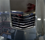 C7 Corvette Stingray Hood Vent Grille Polished - Matrix Series