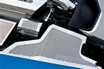 C7 Corvette Stainless Steel Fender Covers - Perforated