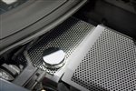 C7 Corvette Water Tank Cover - Perforated Brushed