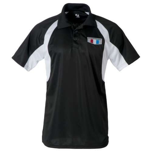 Mens Camaro Generation Six Badger Polo