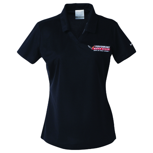 LADIES PERFORMANCE BUILD CENTER POLO