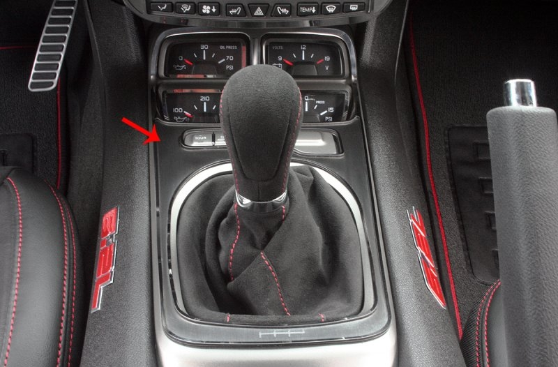 2010-2014 Camaro Shifter Plate - Stick Only