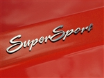 2010-2014 Camaro Exterior Badges Polished - Super Sport