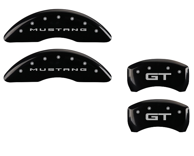 2015 Ford Mustang GT MGP Caliper Covers Black