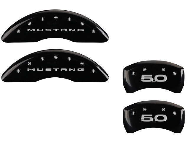 2015 Ford Mustang 5.0 MGP Caliper Covers Black