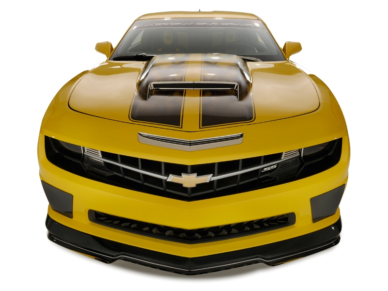 "2010-2014 Graphic ""AirBrushed"" Hood Stripe"