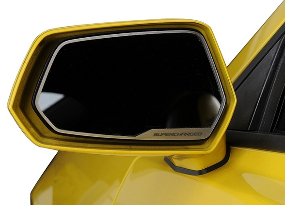 2010-2014 Camaro Side View Mirror Trim ZL1 w/Supercharged