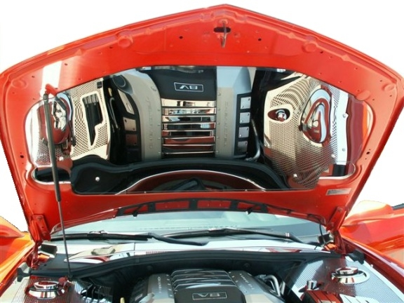 2010-2014 Camaro Stainless Under Hood Panel Kit