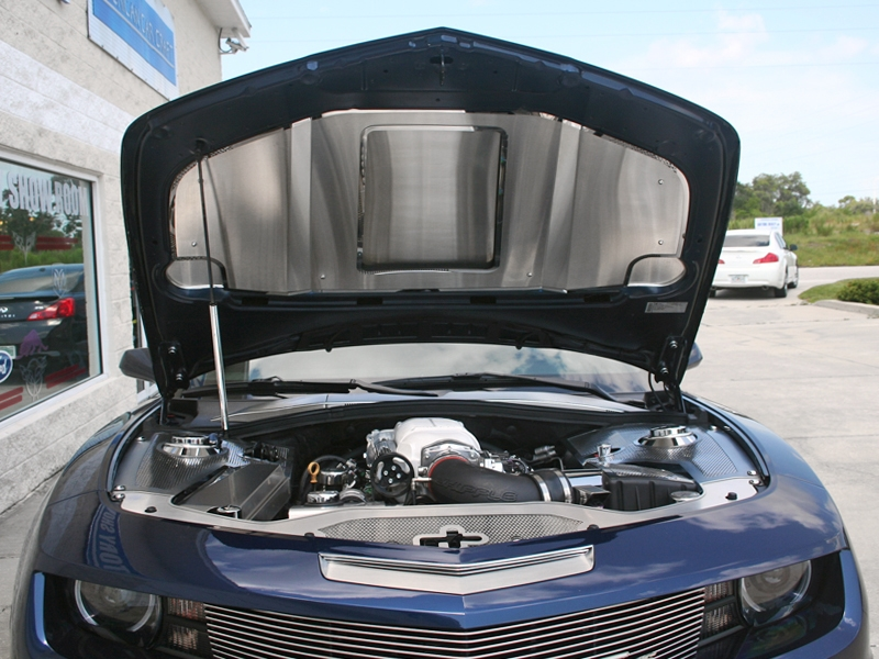 2010-2014 Camaro Hood Panel - SuperCharged