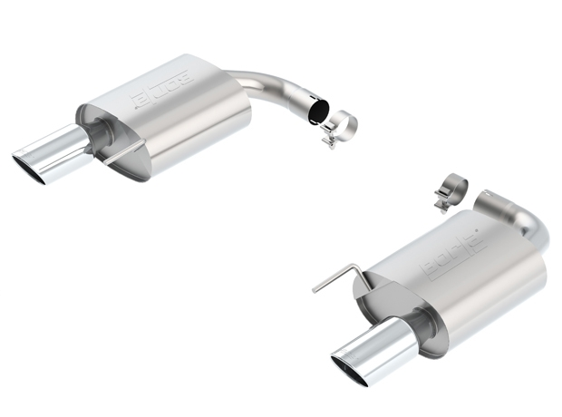 2015 Mustang GT BORLA S-Type Rear Section Exhaust 11887