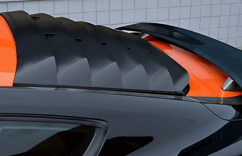 2015 Ford Mustang MRT Rear Window Louvers