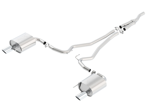 2015 Ford Mustang Eco Boost Borla Cat-Back Exhaust ATAK 140585