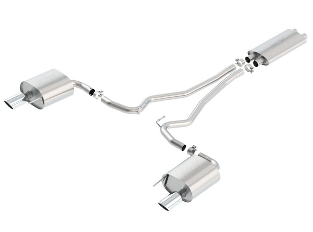 2015 Mustang V6 Borla Cat-Back Exhaust Touring 140586
