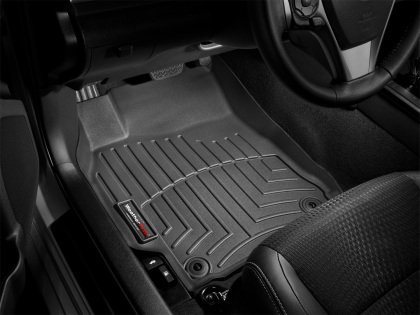 2015 2017 Ford Mustang WeatherTech Front Seat Liners Floor Mats