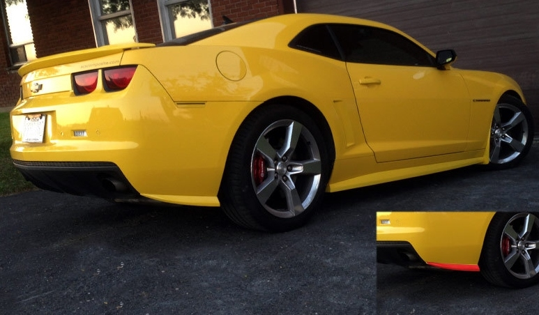 2010-2014 Camaro Rear Bumper Side Extensions by ACS