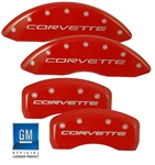 C6/C5 Corvette Caliper Covers w/Logo