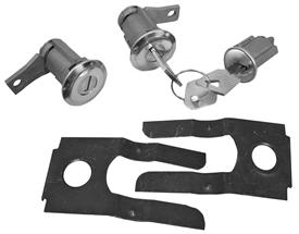 Lock Kit Ignition And Door Mustang 1965-66