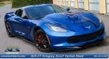 2014 2015 C7 Corvette ACS Zero7 Extractor Carbon Hood