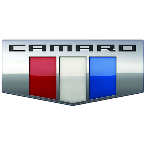 CAMARO SIX EMBLEM STEEL SIGN