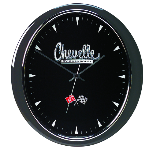 CHEVELLE OVAL WALL CLOCK