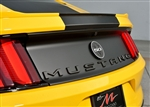 2015 Ford Mustang Rear Trunk Badges Lettering Letters
