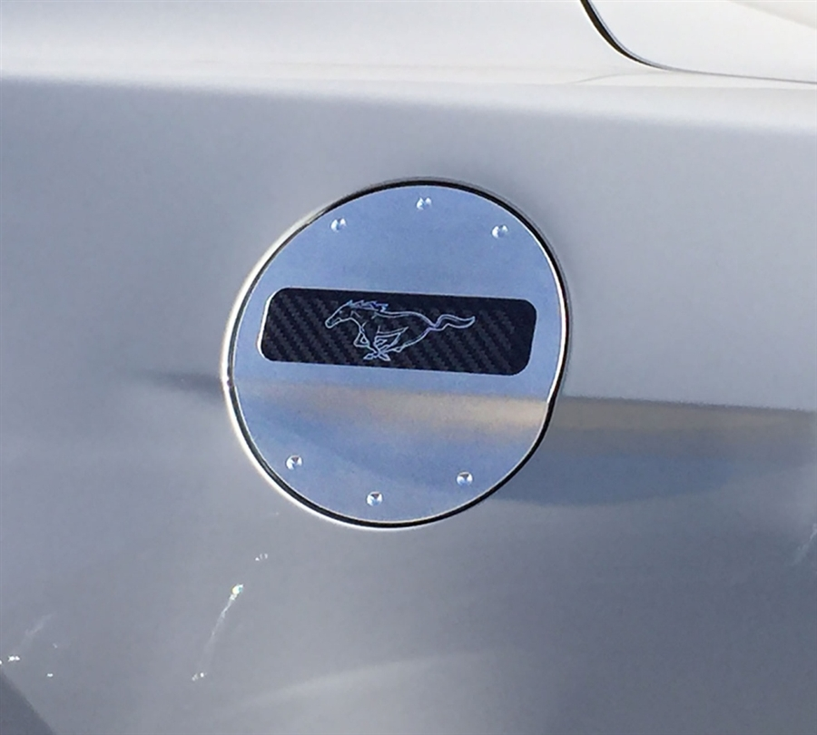 2015 Ford Mustang DefenderWorx Billet Fuel Door