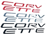 C5 Corvette Domed Rear Bumper Lettering Letters Kit