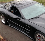 C5 Corvette ZR1 Style Side Skirts Package - Pre-Painted