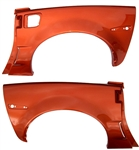 C6 Corvette Body Color Painted Coupe Z06 Rear Quarter Panels