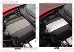 C7 Corvette Painted Engine Plenum Cover Overlay