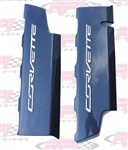 C7 Corvette Hydro Carbon Fiber Fuel Rail Covers