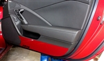 C7 Corvette Stingray Door Kick Panels - Painted Any Color