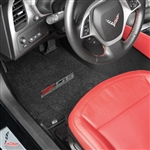 C7 Corvette Z06 Lloyd Front Embroidered Floor Mats