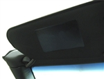 C7 Corvette Stingray Visor Warning Lablel Decal Covers