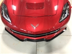 C7 Corvette Stingray Z06 Painted Front Splitter