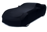 2014 2015 C7 Corvette Car Cover- Black Color Matched Indoor Stretch